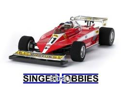 Tamiya Ferrari 312t3 Rc F-1 Kit De Voiture Basé Sur Châssis F104w Tam47374 Hrp