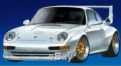 Tamiya Porsche 911gt2 Rc Car Racing Ta02sw Modèle Kit Châssis