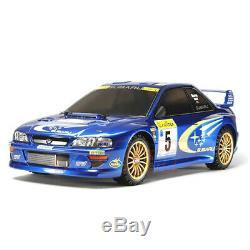 Tamiya Tt02 1/10 Subaru Impreza Monte Carlo 99 Châssis 4 Roues Motrices Kit Cars Ep Rc # 58631