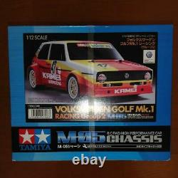 Tamiya Volkswagen Golf Mk. 1 Racing Group 2 M-05 Châssis 1/12 Rc Ff Racing Voiture