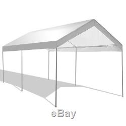 Tente Portative De Partie De Couverture De Garage De Voiture Portative D'abri De Canopée D'abri De Cadre En Acier De 10 X 20
