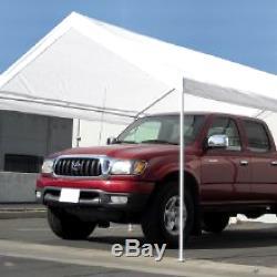 Toit De Garage Couvert Cadre 10 X 20 Grande Tente Abri De Parking Portatif Abri De Voiture