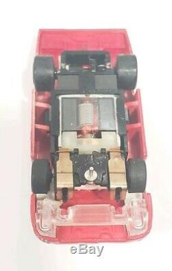 Tomy Turbo Sur Mesure Lighted Afx Ho Sous Châssis Voiture Nos Bsrt Srt Sg + Tyco Mega G