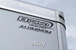 Transporteur De Voiture Fermé Au Cadre En Aluminium Bravo 2019 Bravo 8.5x24