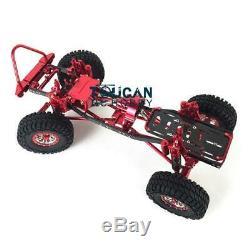 Us Stock 1/10 Axial Scx10 D90 Rc Rock Crawler Voiture En Métal En Alliage D'aluminium De Rd Frame