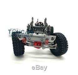 Us Stock 1/10 Gris Scx10 D90 En Aluminium De Voiture En Métal En Alliage Cadre Chasis Modèle