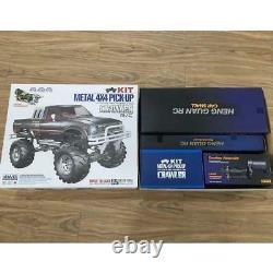 Us Stock 1/10 Kit Châssis Axes Rc Pickup 44 Rally Car Series Racing Crawler Bk