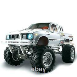 Us Stock 1/10 Rc Pickup 44 Rally Car Hg Racing Crawler Kit Châssis Gearbox