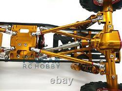 Us Stock D90 Scx10 1/10 Châssis En Alliage D'aluminium Cnc Axiale Rc Rock Crawler Voiture