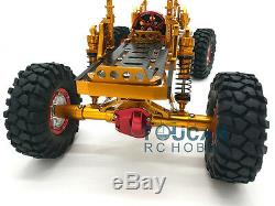 Us Stock D90 Scx10 Châssis 1/10 Axial Cnc En Alliage D'aluminium Rc Rock Crawler Voiture