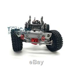 Us Stock En Métal En Alliage D'aluminium Pour Cadre Chasis Scx10 D90 Voiture Modèle 1/10 Gris