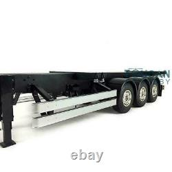 Us Stock Hercules 40ft Châssis Pour 1/14 Tamiya Tracteur Camion Semi-remorque Voiture