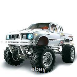 Us Stock Hg 1/10 4wd Rc Pickup 4x4 Rally Car Racing Crawler Kit Châssis Boîte De Vitesses