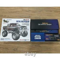Us Stock Hg Racing Crawler 1/10 Rc Pickup 44 Rally Car Kit Châssis Boîte De Vitesses