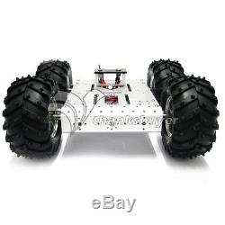 Véhicules Éducatifs De Robot De Châssis De Voiture De Plate-forme Mobile En Aluminium De Voiture De La Voiture 4wd