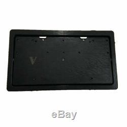 Voiture Électrique 2pcs Cachée Plaque D'immatriculation Cadre Flipper Couverture Avec Télécommande