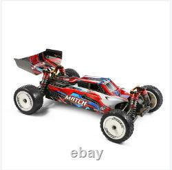 Wltoys 104001 1/10 2.4g 4x4wd 45km/h Rc Car Metal Chassis Off-road+brushless Motor