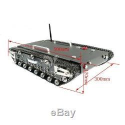 Wt-500s Intelligent Rc Robotique Chenillé Réservoir Rc Base De Robot Châssis De Voiture # 30 KG De Charge Nouveau #