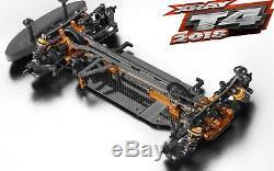 Xray T4 2018 1/10 Châssis Touring Car Kit Graphite Électrique Asct Xra300024