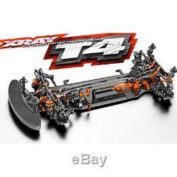 Xray T4 2019 1/10 Touring Car Kit Électrique Withgraphite Châssis Xra 300025