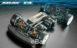 Xray T4 2020 1/10 Touring Voiture Électrique Châssis En Aluminium Kit Xra300027