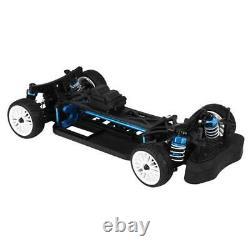 Zd Racing 110 Scale Drift Car Frame 4wd Aluminium Alloy & Kit Plastique