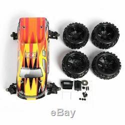 Zd Racing 9116 Echelle 1/8 100 Kmh Camion Électrique 4 Roues Motrices Drift Kit Frame Voiture